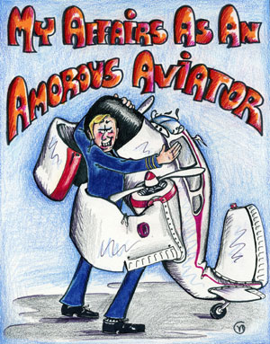Cover of book My Affair as an Amorous Aviator